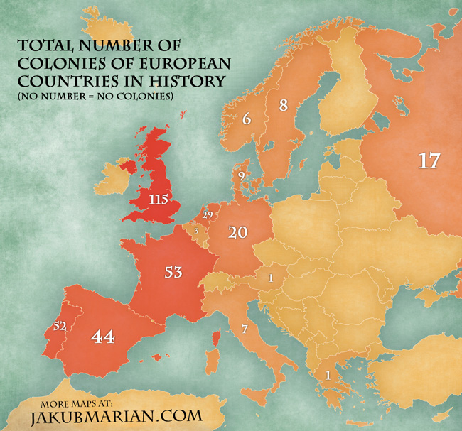 Number of former colonies of european countries map the underlying blank map was made by tindo and licensed from fotolia if you want to share the map please share a link to this webpage instead of gumiabroncs Image collections