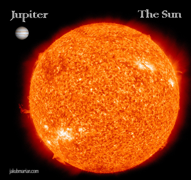 planet jupiter size compared to earth - photo #38