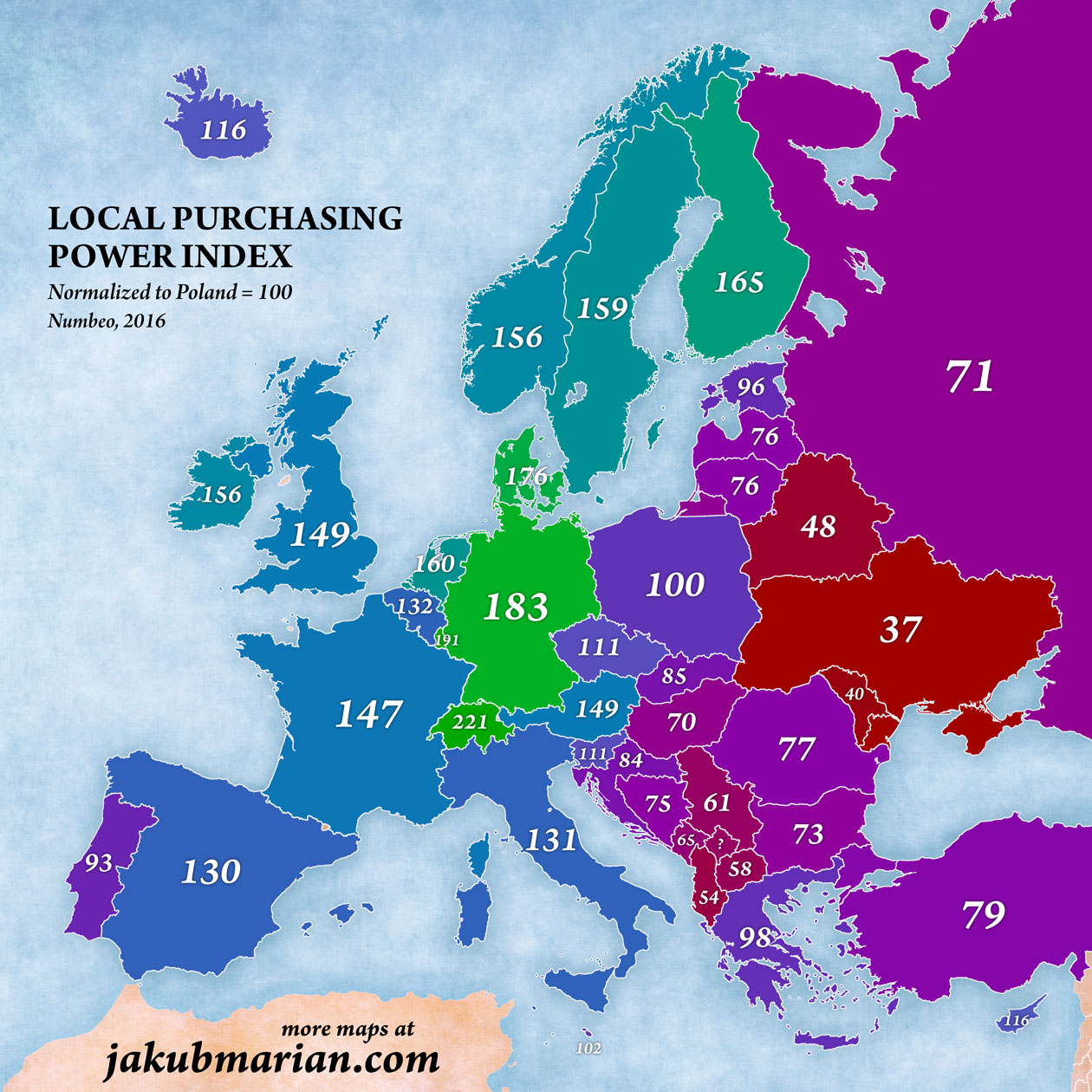 purchasing power index