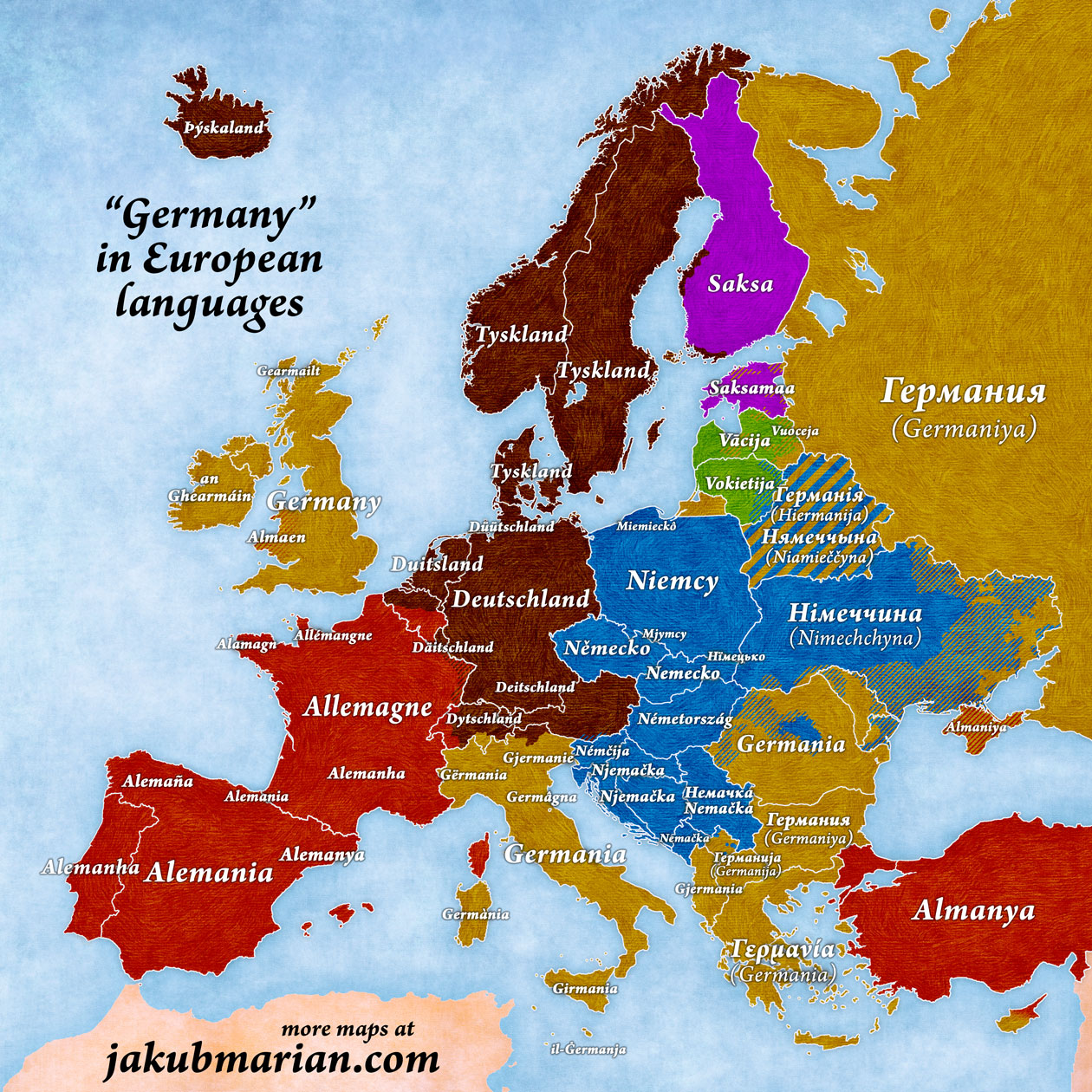 germany-european-languages