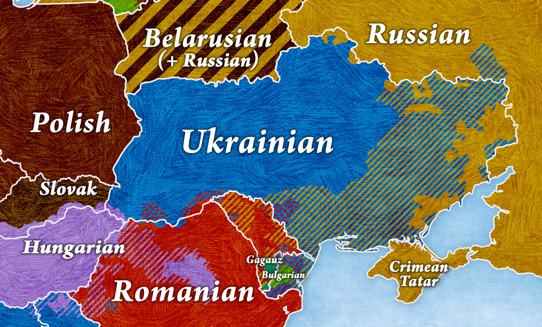 Ukraine in my linguistic maps on show map of eastern europe, show map of romania, show map of moscow, show map of georgia, show map of asia minor,