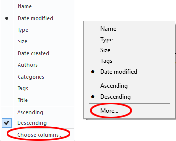 """Sort by date"""" slow in Windows 8 and 10 – solution"""
