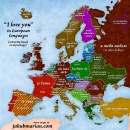 I love you in European languages