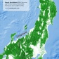 Tree cover of Honshu