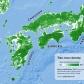 Tree cover of Kyushu, Shikoku, Chugoku, and Kansai