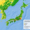 Land cover of Japan and the Korean Peninsula