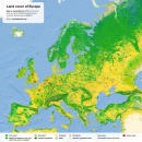 Land cover of Europe