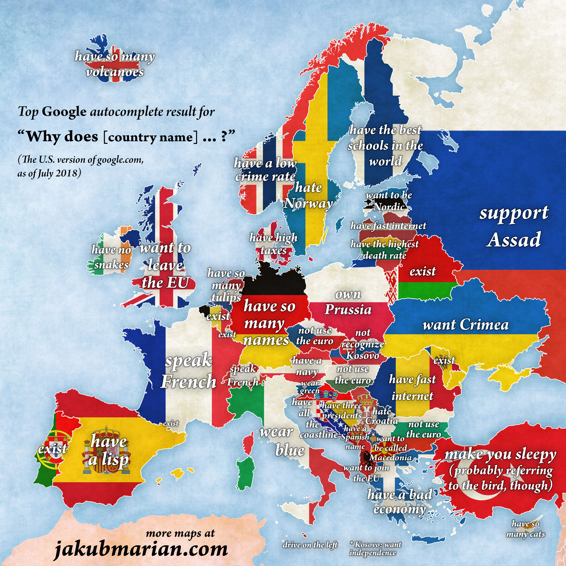 How Many Countries are there in Europe? Here's an Entire List