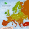 Highest ever recorded temperature in Europe