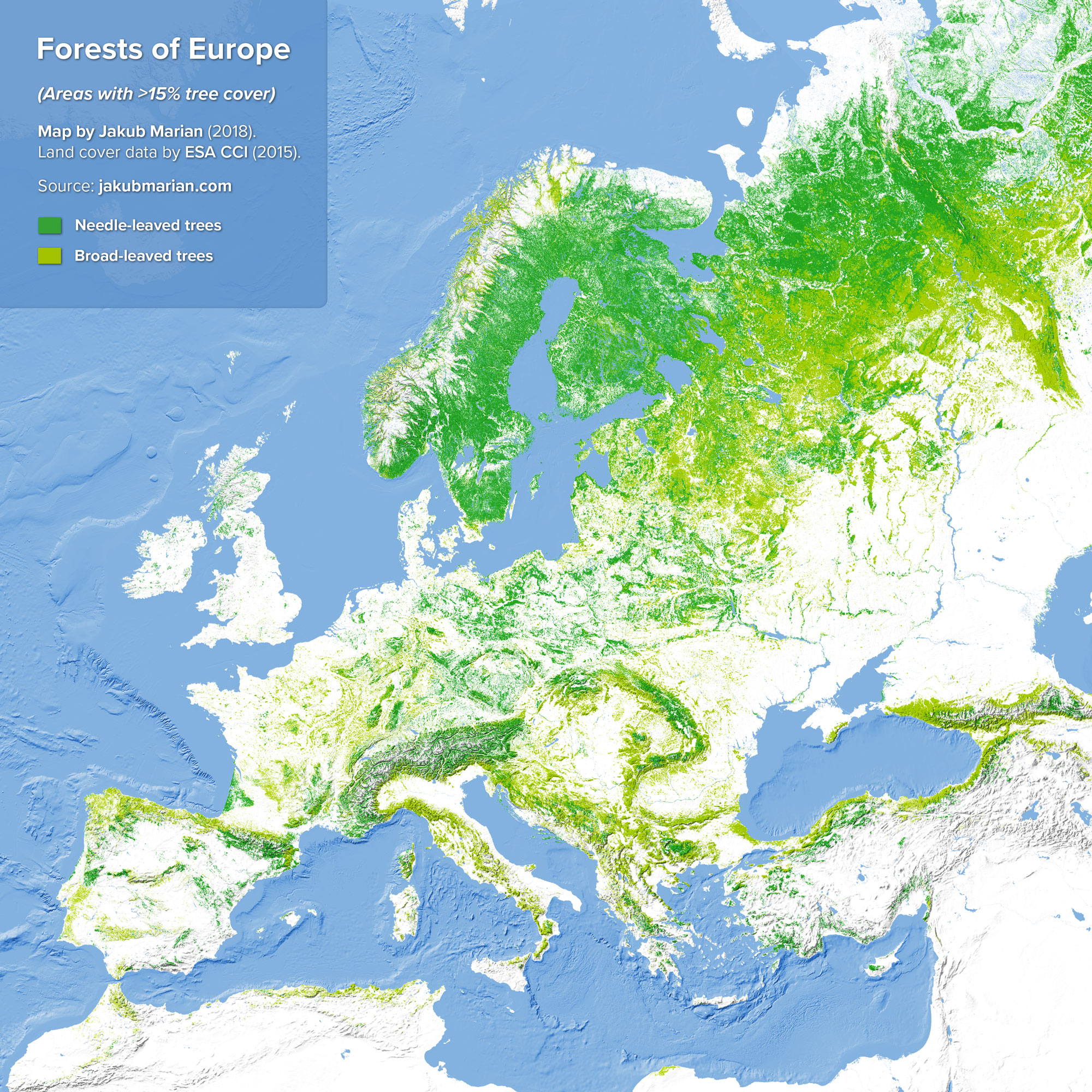 Forests of Europe