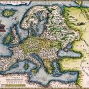 Europe Ortelius 1572